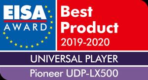 PIONEER UDP-LX500 ПОЛУЧИЛ ПРЕСТИЖНУЮ НАГРАДУ EISA 2019-2020