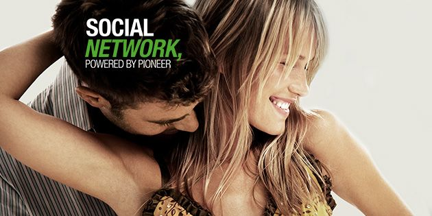 Social Network, powered by Pioneer